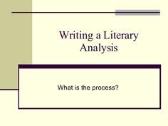Analytical Thesis Statements - University of Arizona